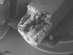 Micropilar reforzado con fibra de nanotubos de carbono