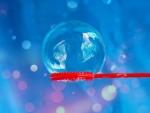 ¿Por qué las burbujas son redondas?