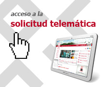 Acceso a la solicitud telemtica
