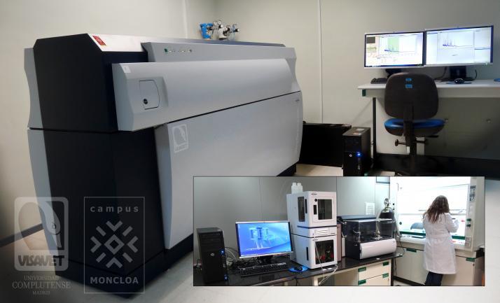 Plataforma de Espectrometría de Masas MALDI TOF/TOF. UHPLC, Proteineer and Image Prep Systems