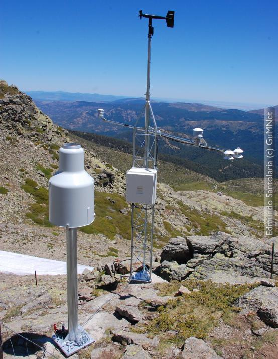 Weather monitoring station EG007-Dos Hermanas (2.225 m.a.s.l.)