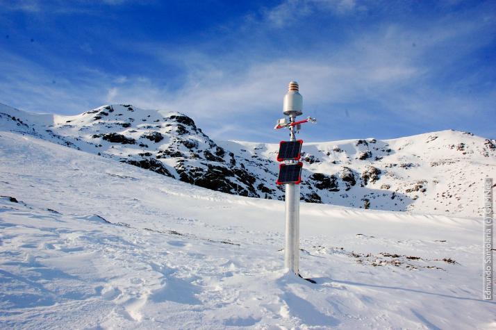 Weather monitoring station  EG006-Hoyas (2.019 m.a.s.l.)