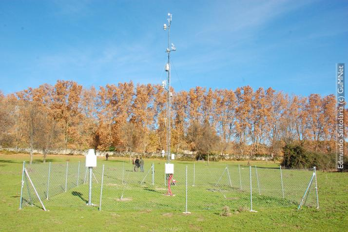 Weather monitoring station EG010-La Herrería I (920 m.a.s.l.)