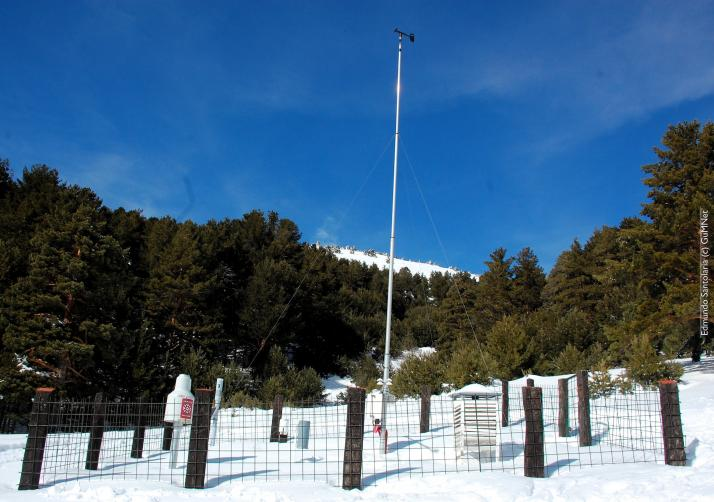Weather monitoring station  EG004-Cotos (1.873 m.a.s.l.)