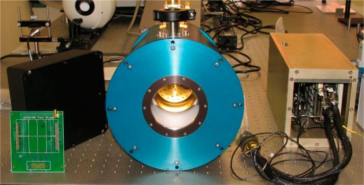 Sistema de caracterización de detectores. Criostato y controlador tipo San Diego