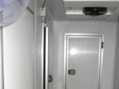 Interior del recinto de cámaras frigoríficas.
