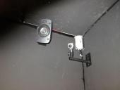 Cámara de tracking óptico, altavoz del equipo de sonido 5.1 y sensor de movimiento para alarma de seguridad