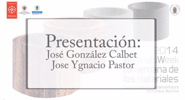 Materials Week 2014 Presentación