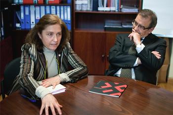 Inés Mínguez y Joaquín Plument