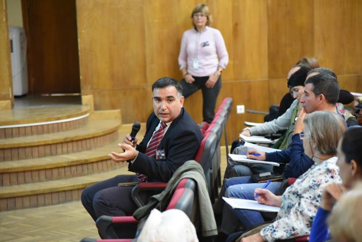 Francesc Marquez. Jornada de Identificación Microbiológica por Espectrometría de Masas MALDI Biotyper