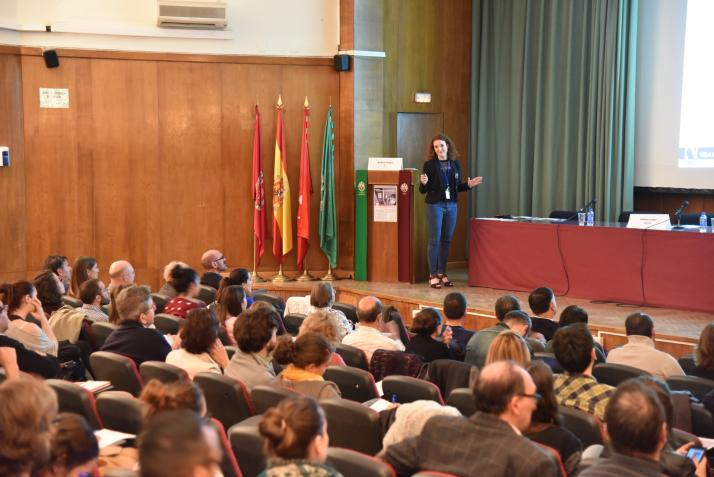 Marta Perez-Sancho. Jornada de Identificación Microbiológica por Espectrometría de Masas MALDI Biotyper