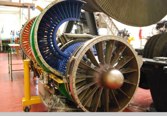 Museo Virtual ETSII - Motor de reaccion por postcombustión 1