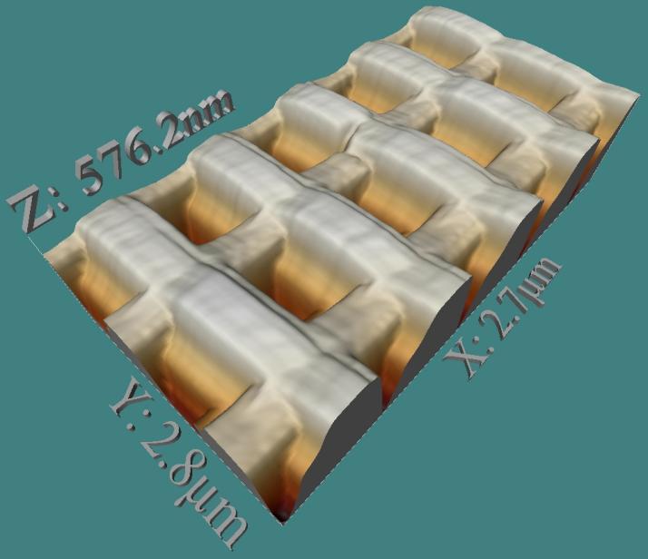 Nano-gofre de reconocimiento molecular (Victor Canalejas Tejero). Materiales para el Futuro