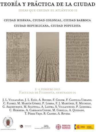 Teoría y práctica de la ciudad. Ideas que cruzan el atlántico II