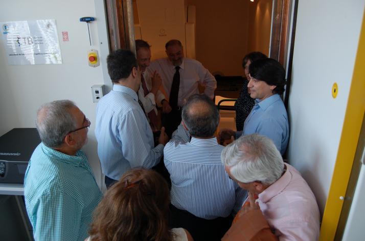 Visita al Centro de Magnetoencefalografía