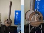 Museo Virtual ETSII - Horno de mufla horizontal con chimenea 1