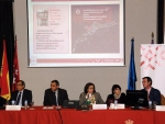 Lucas Domínguez Rodríguez Coordinador UCM del Clúster de Agroalimentación y Salud presenta el equipamiento e infraestructuras