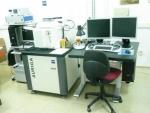 Imagen del nuevo microscopio que se está instalando