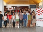 Group photo of the Junior Doctors and predoctoral students of Campus Moncloa