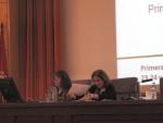 Coordinadoras del Campus Moncloa: María Luisa Osete e Inés Mínguez