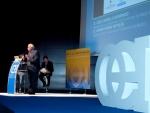 El Rector de la Universidad Politécnica de Madrid presenta la evaluación del Campus Moncloa durante el evento de los Campus de Excelencia
