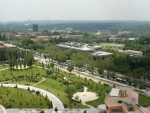 Aereal view of CEI Campus Moncloa