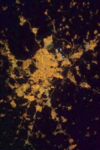 Madrid at night. Image acquired on 12 February 2012 from the ISS (International Space Station)