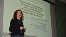 Marta Perez-Sancho. Microbiological Identification based on MALDI Biotyper Mass Spectrometry Meeting